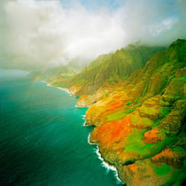 Na Pali Rainbow by Peter Tomsu