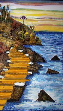 Flip-Flops Road by Irena Kosanovic