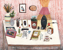 Still Life II - Desk by Angela Dalinger