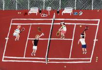 Tennis von Angela Dalinger