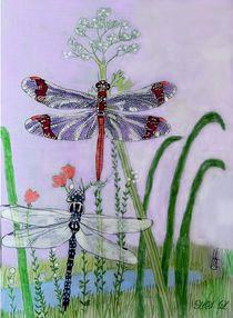 Libellen von Heidi Schmitt-Lermann
