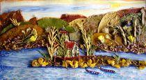 Sleepy lake by Irena Kosanovic