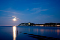 Llandudno Moon Rising von James Biggadike