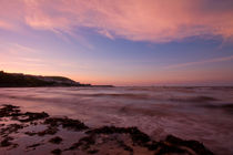 New Quay Sunset by James Biggadike