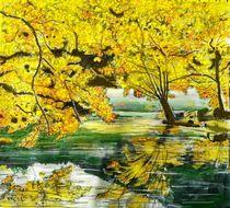 Goldener Herbst von Heidi Schmitt-Lermann