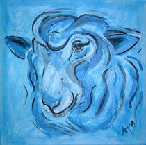 Blue oder auch Schafe haben Gefühle by Annett Tropschug