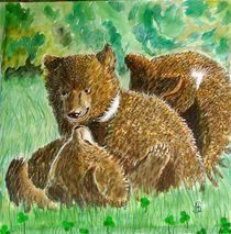 Junge Bären von Heidi Schmitt-Lermann