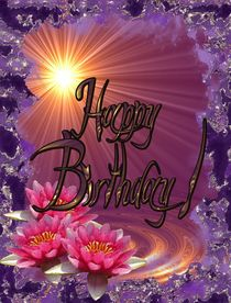 Happy Birthday Card von Carmen Eugenia Senchiu