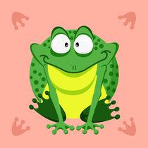 Kugeltier Frosch von Michaela Heimlich