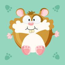 Kugeltier hamster by Michaela Heimlich