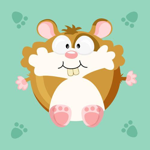Kugeltier-hamster