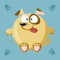 Kugeltier Hund von Michaela Heimlich