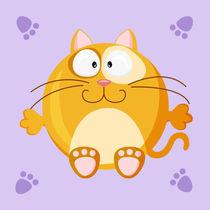 Kugeltier Katze by Michaela Heimlich
