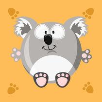 Kugeltier Koala by Michaela Heimlich