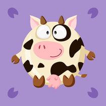 Kugeltier Kuh von Michaela Heimlich