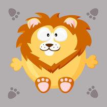 Kugeltier Löwe von Michaela Heimlich