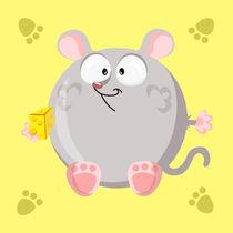 Kugeltier Maus by Michaela Heimlich