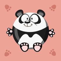 Kugeltier Panda by Michaela Heimlich
