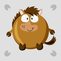 Kugeltier Pferd von Michaela Heimlich