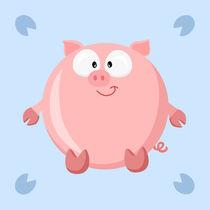 Kugeltier Schwein by Michaela Heimlich