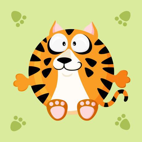 Kugeltier-tiger