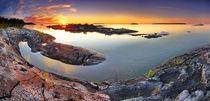 Sunset from Dunk's Point in Tobermory von Zoltan Duray