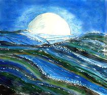 Nächtliches Meer by Heidi Schmitt-Lermann