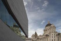Museum of Liverpool Facade von Wayne Molyneux