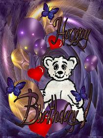 Children's Birthday Card. von Carmen Eugenia Senchiu