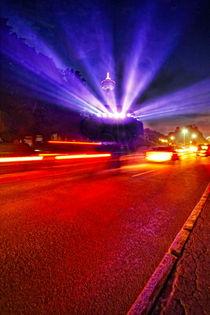 Light Show of Niagara Falls von Zoltan Duray