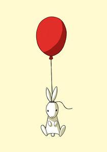 Balloon Bunny von freeminds