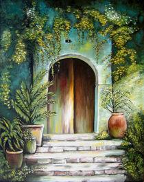 Mediterranes Flair - mediterrane Gemälde von Marita Zacharias