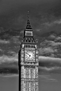 Big Ben black & white by M.  Bleichner