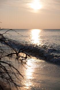 Abend am Meer von Anne-Barbara Bernhard