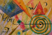 The Kandinsky Swirl by Warren Thompson