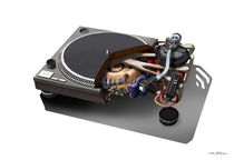 1210 Turntable Music von Mads Peitersen