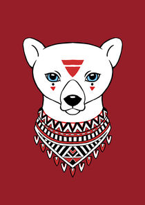 Tribal Bear by freeminds