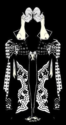 Kimono II Le double by Kasparian Tamar