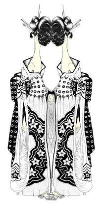 Kimono  II Le Double v3 by Kasparian Tamar