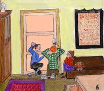 neugierige Kinder by Heidi Schmitt-Lermann