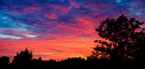 Sky on Fire by Keld Bach