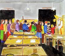 Nikolausbesuch in der Schule von Heidi Schmitt-Lermann
