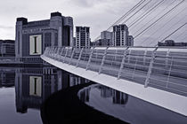 BALTIC & Gateshead Millennium Bridge by David Pringle