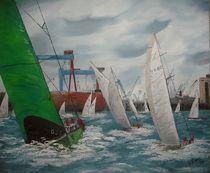 112-dot-regatta-auf-der-kieler-innenfoerde-50x60cm-oel-2011