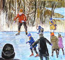 Eislaufen von Heidi Schmitt-Lermann