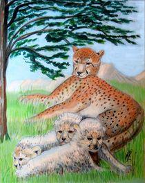Der Gepard von Heidi Schmitt-Lermann