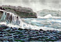 Bucht in Norwegen by Heidi Schmitt-Lermann