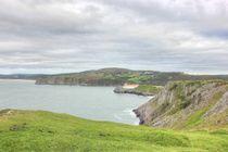 Gower cliffs view by Dan Davidson