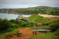 View over Pobbles Bay by Dan Davidson