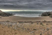 Pobbles Bay High Tide by Dan Davidson